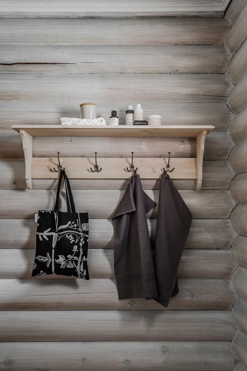 Porte serviettes en bois