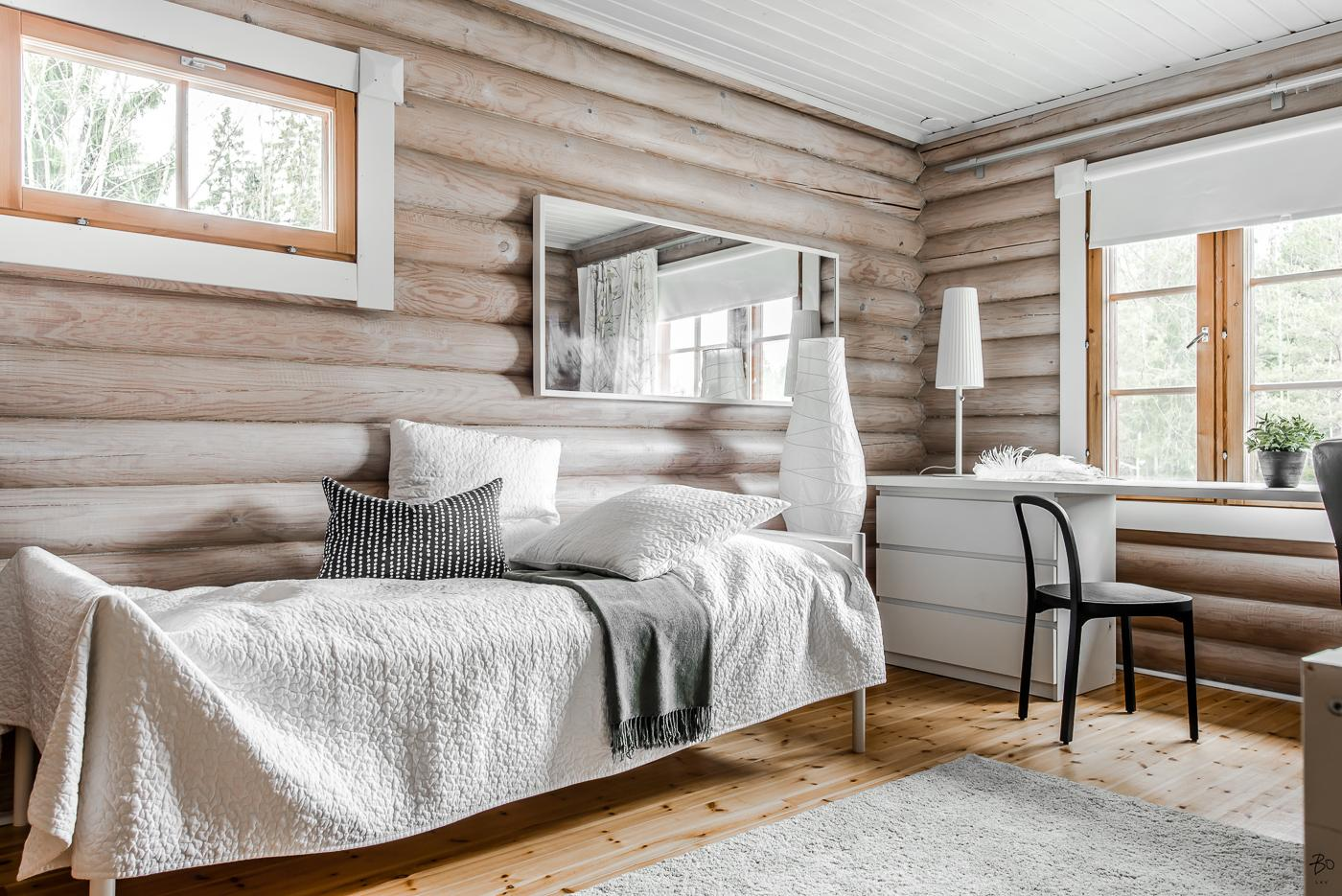 Chambre avec meubles Ikea