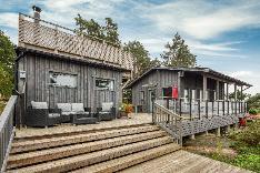 Uusi vapaa-ajan asunto ja sauna