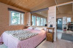 Uuden talon makuuhuone