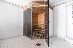 Sauna ja tilava pesuhuone