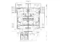 Suunnitellun paritalon yläkerran pohjapiirros