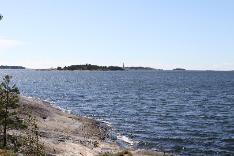 maisema Rönnskäriin päin