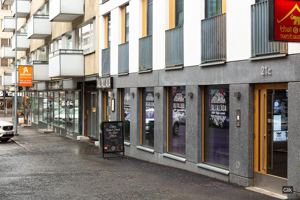 Näsilinnankatu 21, 33210 Tampere, Keskusta