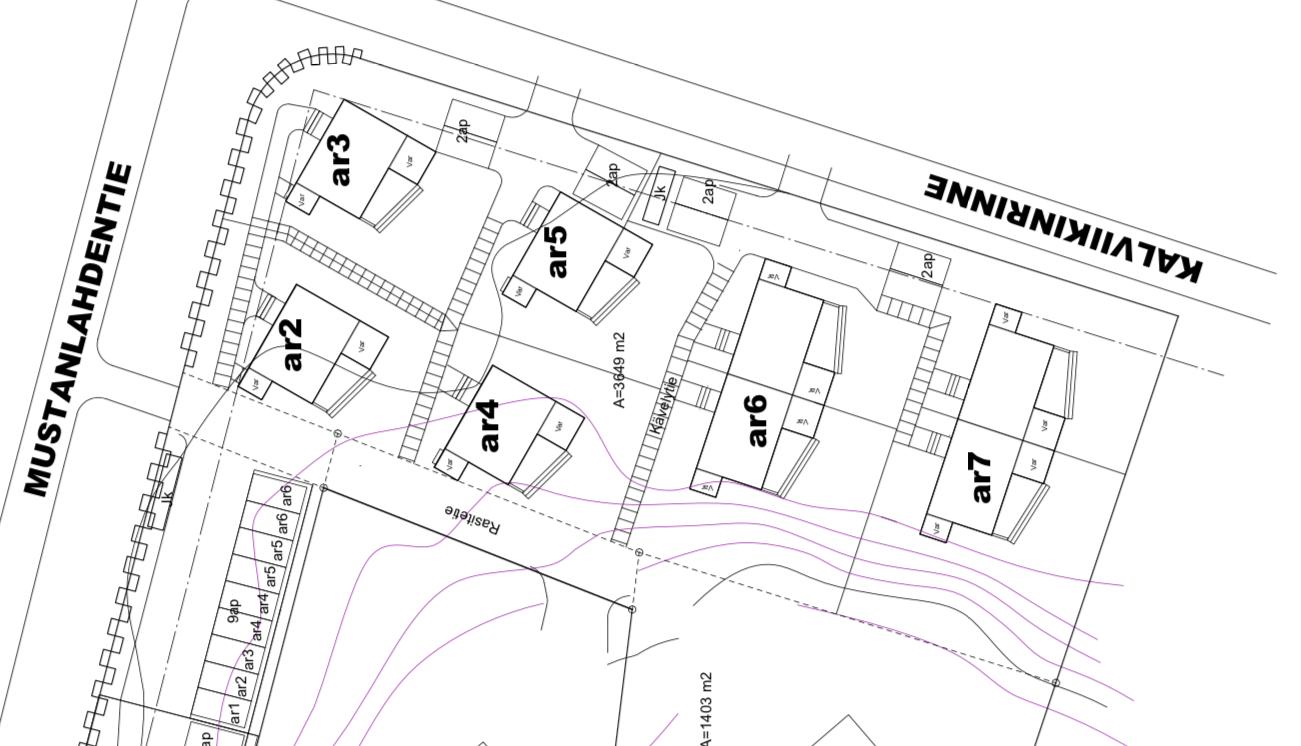 Tämä talo on merkitty karttaan ar5:na. title=