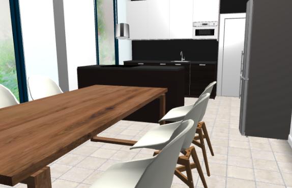 A-talon keittiön värimaailmaa. title=