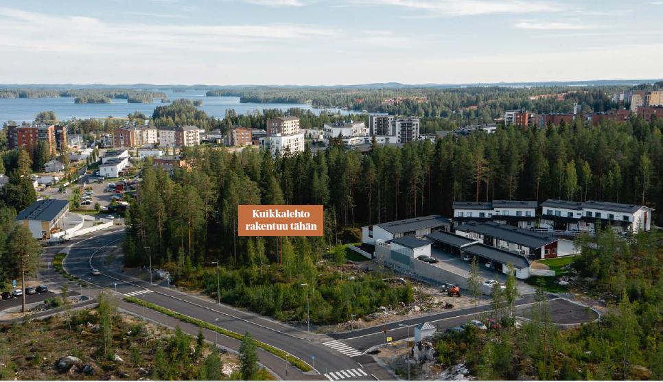 Saaristokaupunki, Kuopio