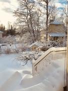 Talvista idylliä.