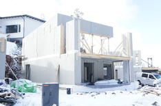 C-talon rakennusvaihe edistyy hyvää vauhtia.