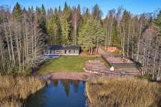 Mökkikylän saunarakennus