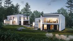 Havainnekuva uusista taloista