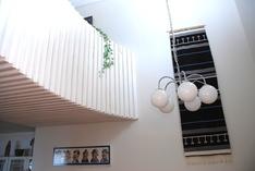 Alakerrasta näkymä II-kerrokseen