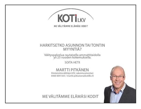Vuoriharjunpuisto 19, 02330 Espoo