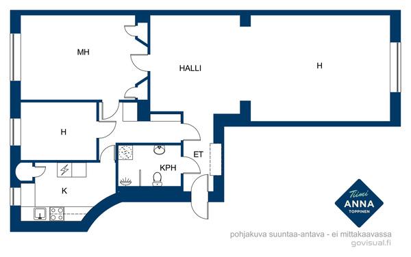 Eteläinen Hesperiankatu 12, 00100 Helsinki