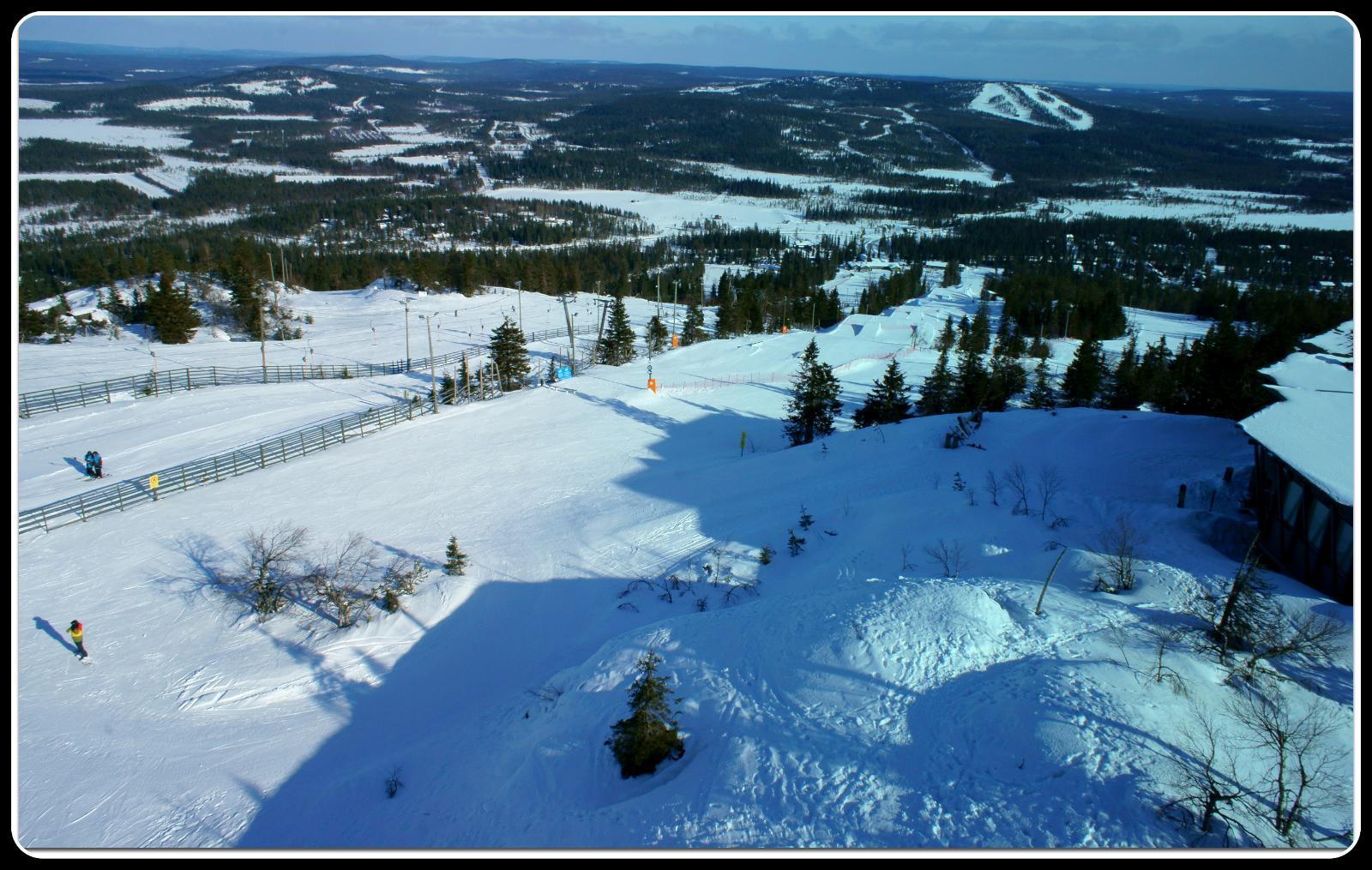 Ski In Ski Out -tontti