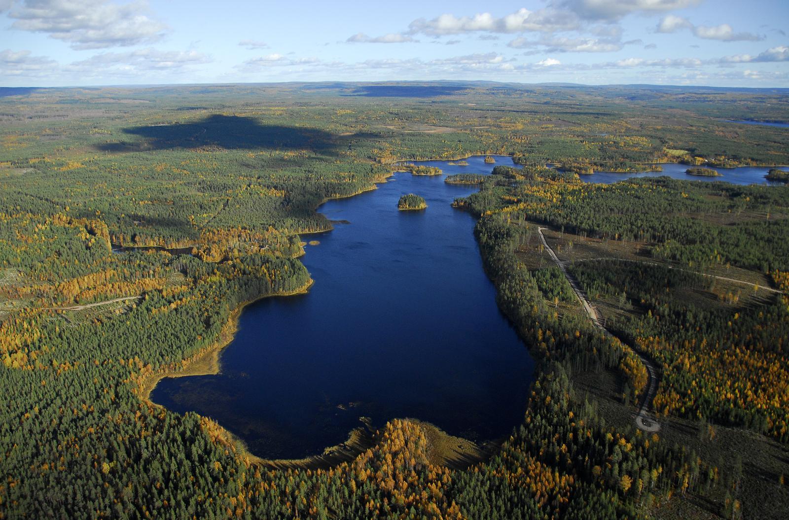 Vihajärvi, oikealla kortteli 5