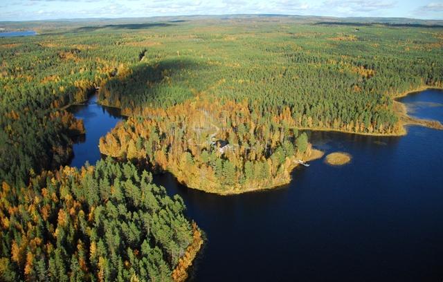 Vihajärvi, Vihajoen suu, Vihakoski suvantoalueen yläpuolella