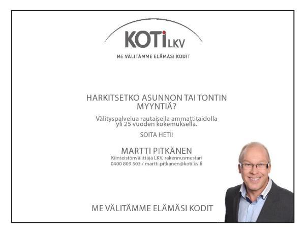 Savikuja 3, 02770 Espoo
