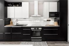 Tyylikäs moderni keittiö